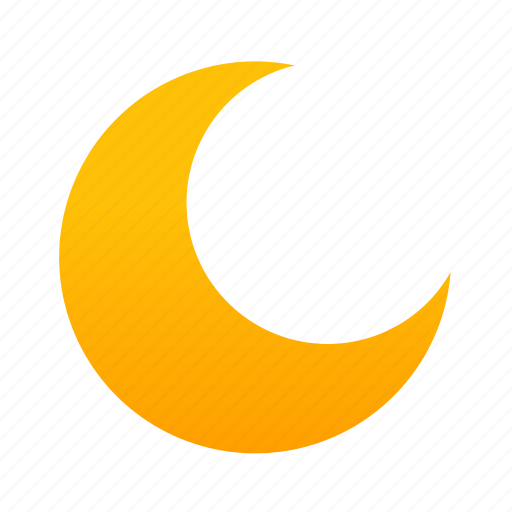 Moon, night, sky, weather icon - Download on Iconfinder