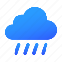 cloud, rain, rainy, weather