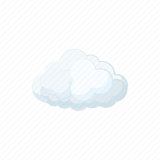 cartoon, cloud, cloudscape, nature, sign, sky, weather icon