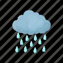 cartoon, cloud, nature, rain, sky, water, weather