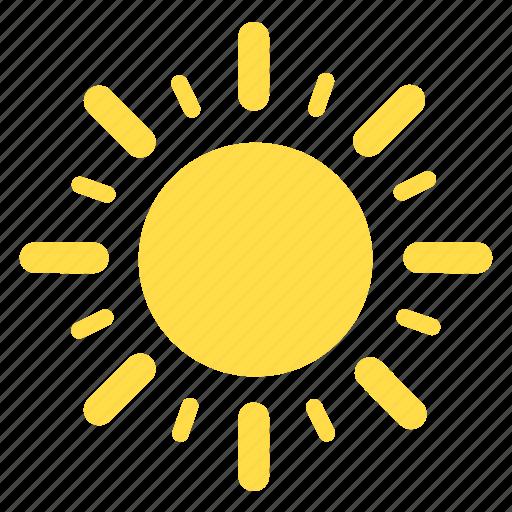 hot, summer, sun, sunny, sunshine, weather icon