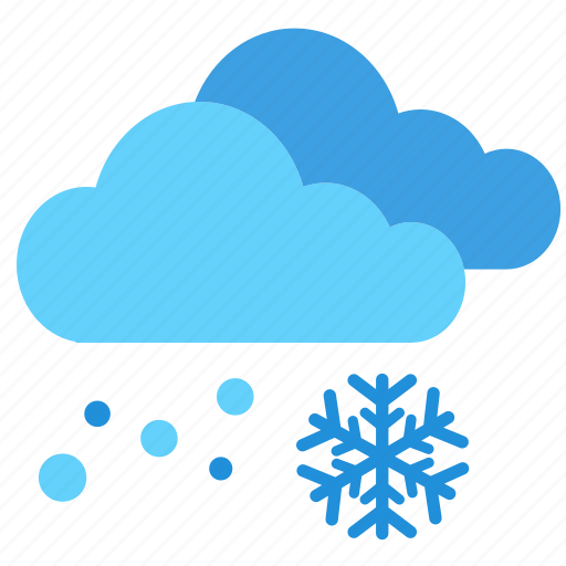 cloud, cloudy, cold, snow, snowy, weather, winter icon