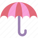 rain, rainy, temperature, umbrella, weather icon