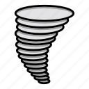 forecast, tornado, weather icon