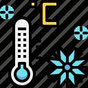 climate, cold, snow, temperature, weather, winter icon