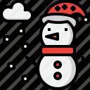 christmas, season, snow, snowman, weather, winter, xmas icon