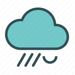 cloud, rain, sleet, weather icon