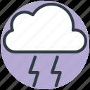 cloud lightning, storm cloud, sky cloud, power bolt, thunderstorm