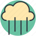 rainfall, heavy rain, weather, cloud icon