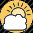 winter, sunny cloud, cloudy, pronostic, weather, sunset, sunrise