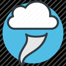 climate change, cloud, hazardous weather, severe weather, whirlwind icon