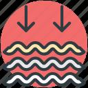 lake, moisture, river, sea, water waves