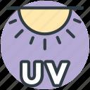 sun, ultraviolet light, ultraviolet radiation, ultraviolet illumination, uv