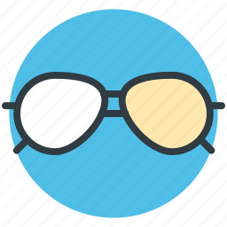 eyeglass, glasses, shades, specs, spectacles, sunglasses icon