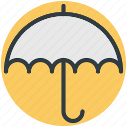 insurance concept, parasol, protection, sunshade, umbrella icon
