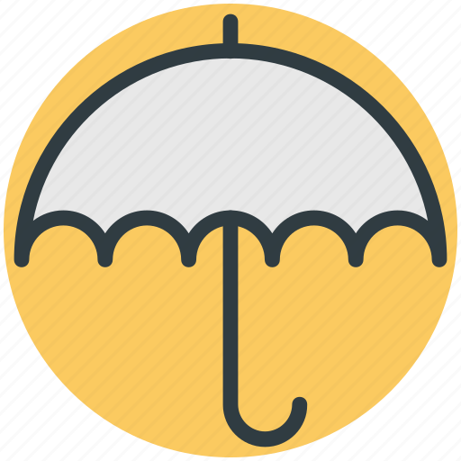 insurance concept, parasol, protection, sunshade, umbrella icon