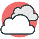 atmosphere, clouds, forecast, nature, puffy clouds, sky clouds, weather icon
