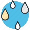 forecast, nature, raindrops, raining, rainy weather, weather icon