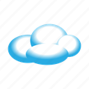 cloud, cloudy, fluffy, internet, seo, upload, weather icon