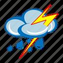 cloud, lightning, rain, storm, thunder, weather, cloudy