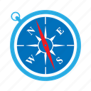 arrow, compass, direction, location, navigation, pointer, weather icon