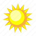 day, forecast, summer, sun, sunny, temperature, warm icon