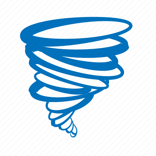 hurricane, spinning, tornado, turing, twisting, weather, wind icon