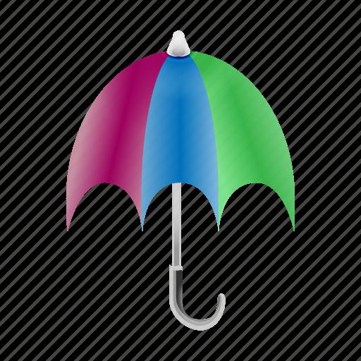 forecast, rain, rainy, sunny, temperature, umbrella, weather icon