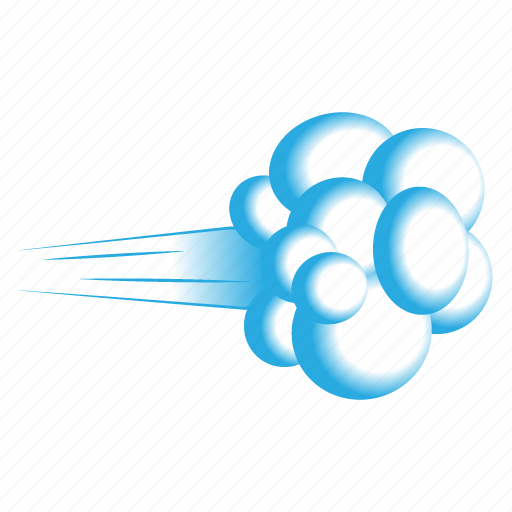 air, blowing wind, cloudy, poof, storm, weather, wind icon