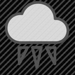cloud, rain, sleet, snow icon