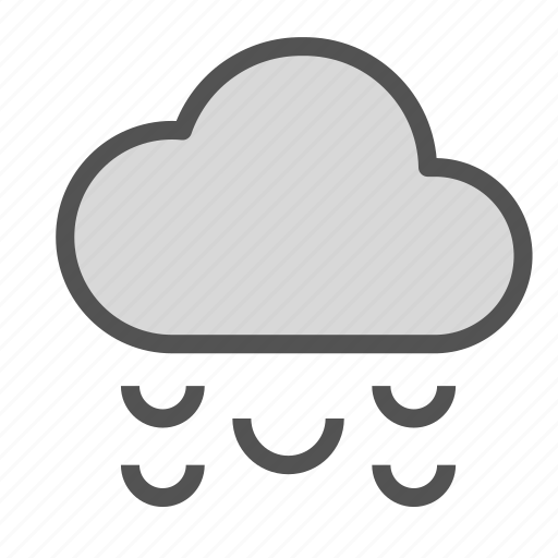cloud, rain, sleet, snow, weather icon