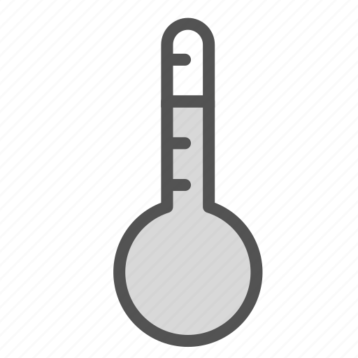 heat, hot, summer, thermometer icon