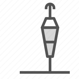 direction, pole, wind icon