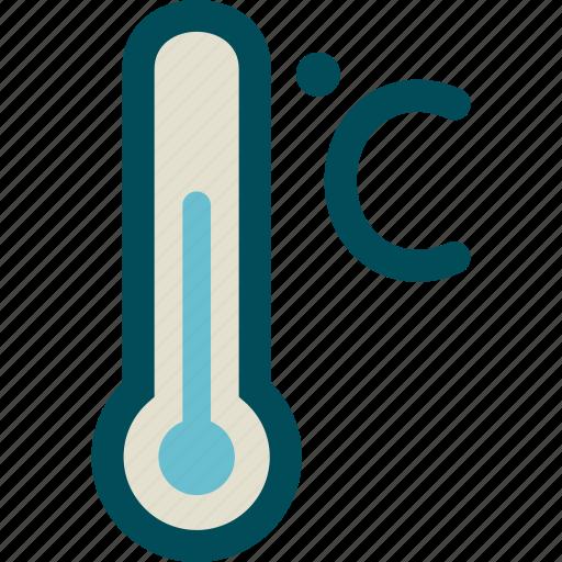 celsius, measure, scale, temperature, thermometer icon