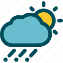day, forecast, hail, hailstone, hailstorm, weather icon