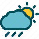 rainfall, rainy, sunny, rain, weather, drizzle