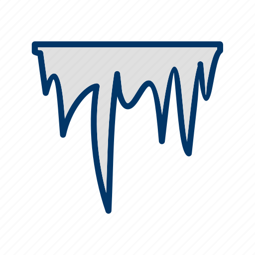 ice, icicle, icicles icon