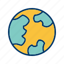 country, earth, globe, planet, world icon