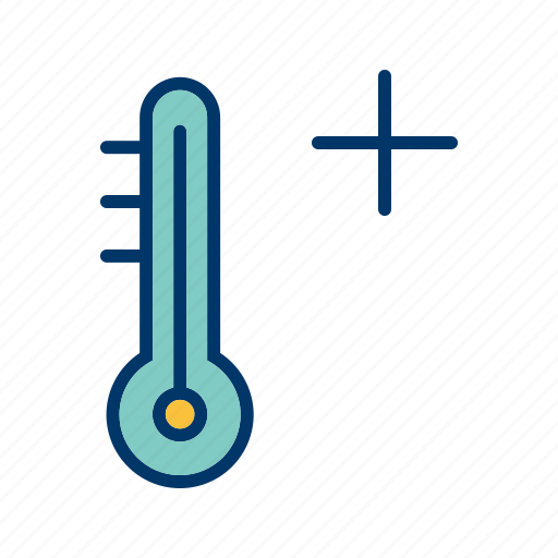 hot, thermometer, warm icon