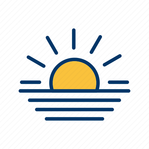 evening, sunrise, sunset icon