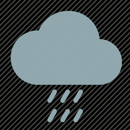 cloud, light, rain, weather icon
