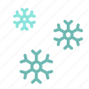 cold, flake, ice, snow, winter icon