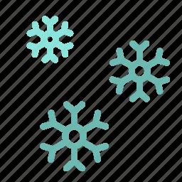 cold, flake, ice, snow, winter icon