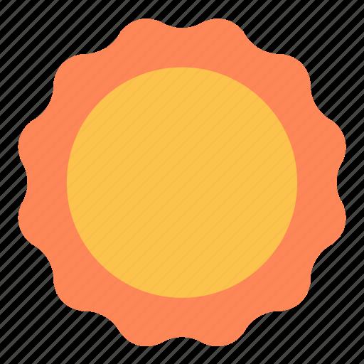 blazing, heat, hot, shine, sun icon