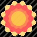 heat, hot, solar, sun icon