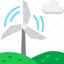 ecology, energy, environment, green, power, wind, windmill icon