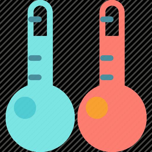 celsiuscomparison, cold, heat, temperature icon