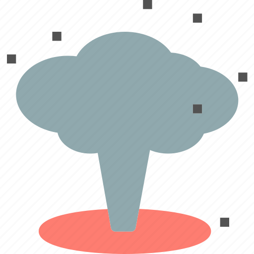 army, bomb, explosion, nuclear icon