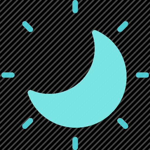moon, night, stars, starsshine icon