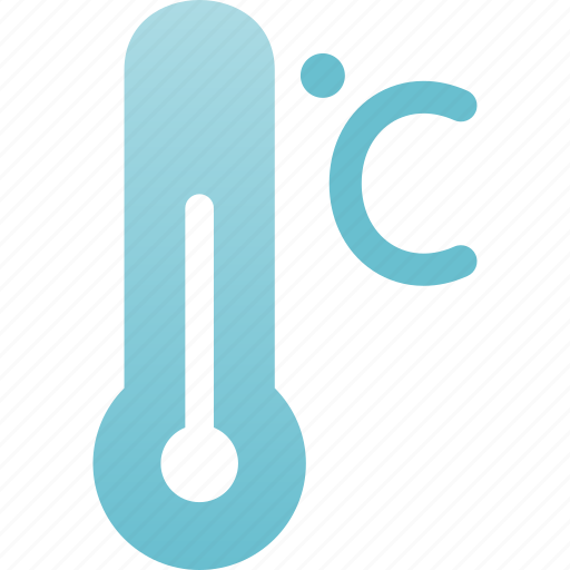 celsius, measure, scale, temperature, thermometer icon
